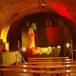 in den Tiefen eines Kellers in Klosterneuburg