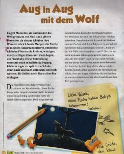 Wolf im LUX