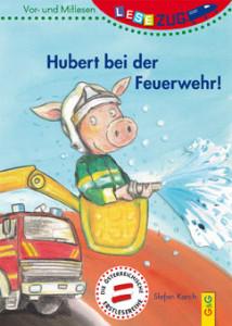 Hubert bei der Feuerwehr